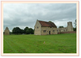 Willington dovecote, stables and church